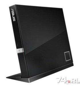 Привод Blue-Ray /DVD ASUS SBC-06D2X-U Combo Black
