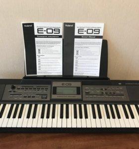 Синтезатор Roland E-09