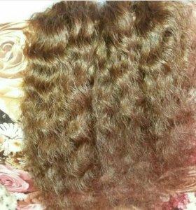 Волнистые волосы для наращивания