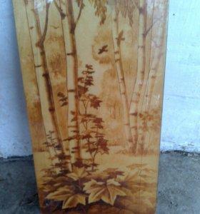 Панно деревянное СССР