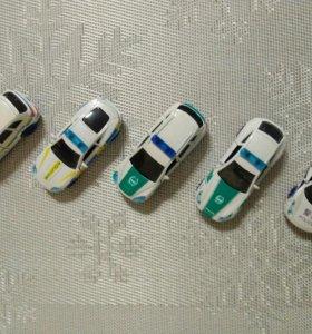 Иностранные полицейские машинки на инерции