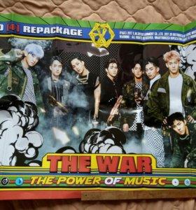 Плакат k-pop группы EXO
