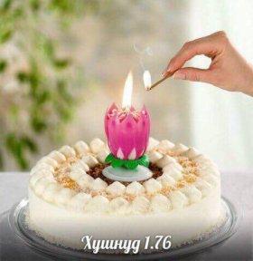 Свеча музыкальная для тортов