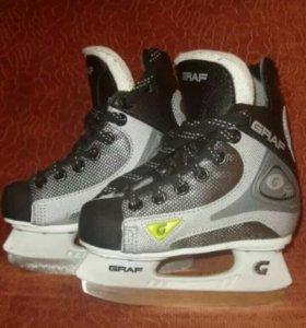 Хоккейные коньки Graf 27 р-р super 101