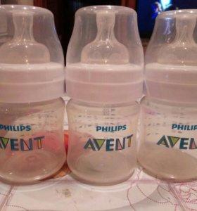 Бутылочки AVENT набор