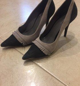 Туфли , замша,36 размер