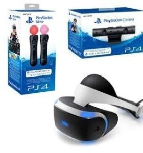 Ps 4 Pro+PlayStation VR+Камера +PS Move