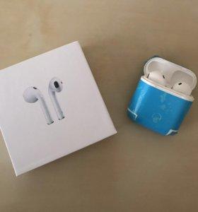Наушники Bluetooth-гарнитуры Apple AirPods