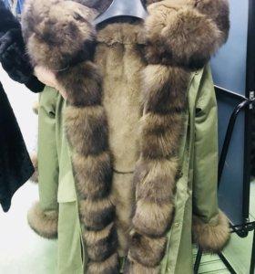 Куртки с натуральным мехом