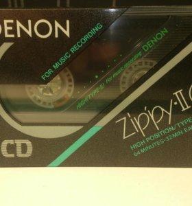 аудиокассета Denon Zippy-II 64(HD-L64) Новая.