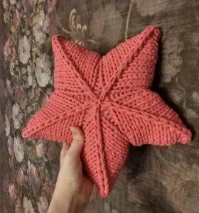 Подушка звезда