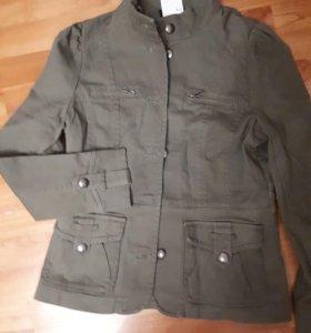 Джинсовый новый пиджак