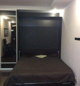 Кровать-шкаф, подъёмная.