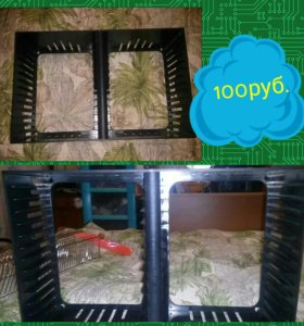 Пластиковая подставка для DVD дисков
