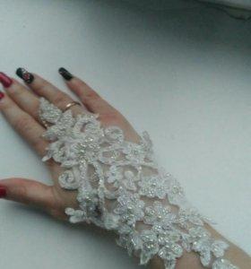 Свадебные перчатки!!!