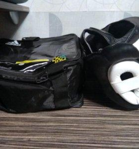 Шлем для бокса mma adidas