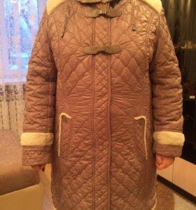 Куртка-пальто 50-52 размер