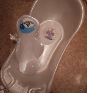 Ванна и горка детские