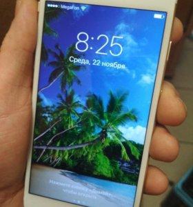 Айфон 6, 16 Gb с Touch ID Золото