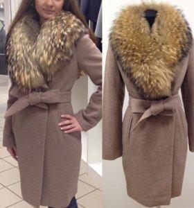 Пальто утепленное зимнее