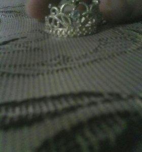 Кольцо на девочку 11-12 лет.торг