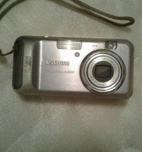 Фотоаппарат Canon A450