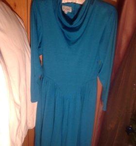 Платье женское с длинным рукавом размер 46