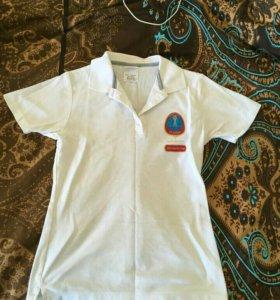 Форма волонтера кубка конфедерации поло+шорты