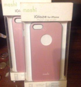 Розовый чехол для iPhone 5
