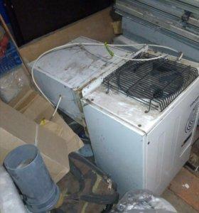 Бу моноблок холодильный -5+5с