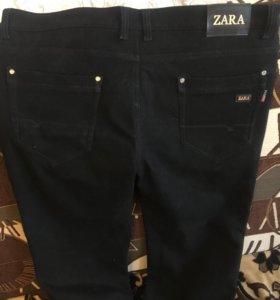 Мужские новые тёплые штаны ZARA