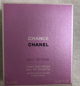 Chanel Chance Eau Tendre twist and spray