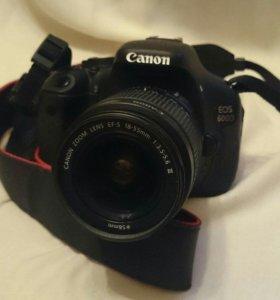 Canon EOS 600D Kit 18-55 Black