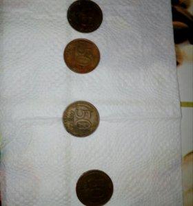Монеты 1993г.