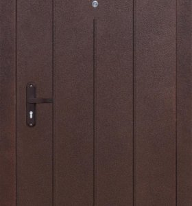 Дверь металлическая Строгйост 5-1 Золотистый дуб