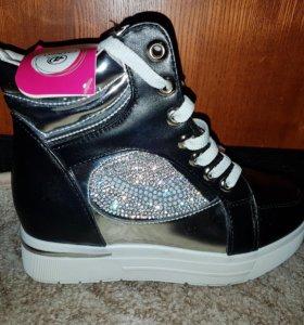 Ботинки осенние- 38 размер