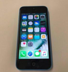 iPhone 5c 16Gb Blue, хорошее состояние