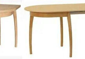 Стол обеденный с выдвижным подстольником