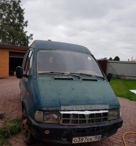 Газель 2705 газ-бензин цельнометаллический фургон