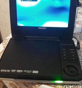 Портативный DVD плеер Philips pd-7030/51