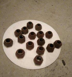 Гайки колесные для штампованных дисков