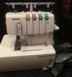 Плоскошовная швейная машинка