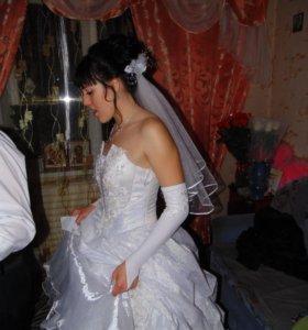 Свадебное платье 2015 года