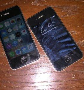Два айфона 4s