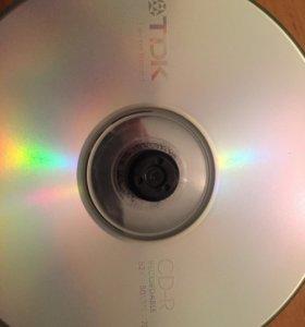 Диски CD TDK для записи (болванки)
