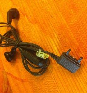 Наушники Sony Ericsson со старым разъемом