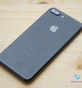 Айфон 7 плюс чёрный матовый 128 гиг