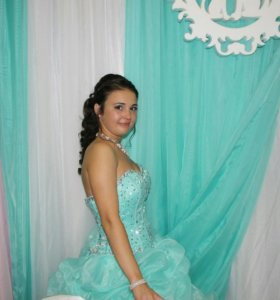 Свадебное/выпускное платье.