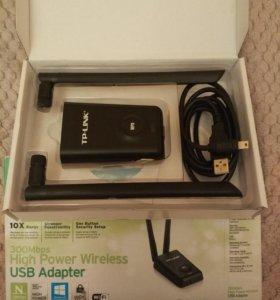 Tp-Link Wifi адаптер с 2 антеннами