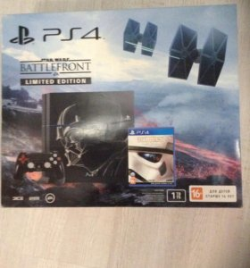 PS4 Stars Wars Battlefront Limited Edition